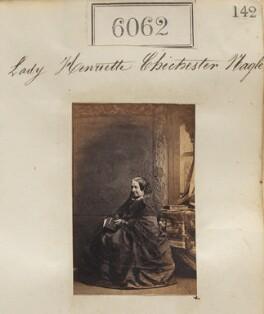 Lady Henrietta Caroline Chichester-Nagle, by Camille Silvy - NPG Ax56015