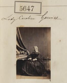 Lady Caroline Elisabeth Garnier (née Keppel), by Camille Silvy - NPG Ax55602