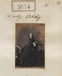 Hariot (née Alston), Lady Abdy, by Camille Silvy - NPG Ax55569
