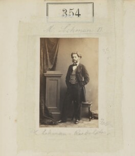 (Augustus) Frederick Lehmann, by Camille Silvy - NPG Ax50119