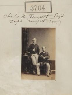 Arthur Cecil Tempest; Sir Charles Henry Tempest, 1st Bt, by Camille Silvy - NPG Ax53100