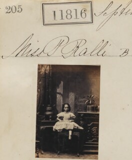 Polymnia Ralli (née Ralli), by Camille Silvy - NPG Ax61495
