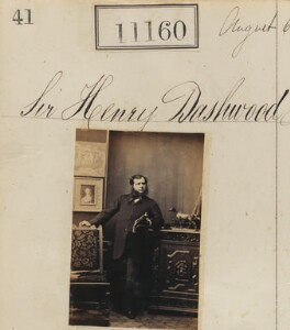 Sir Henry William Dashwood, 5th Bt, by Camille Silvy - NPG Ax60860