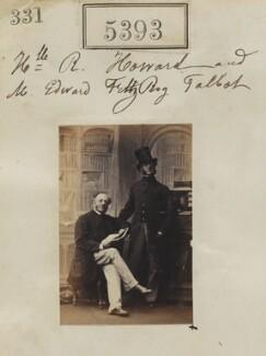 Hon. Richard Edward Howard; Edward Fitzroy Talbot, by Camille Silvy, 8 August 1861 - NPG Ax55353 - © National Portrait Gallery, London