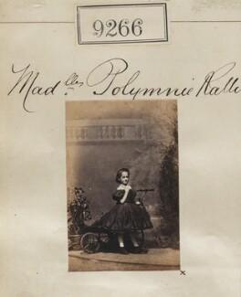 Polymnia Ralli (née Ralli), by Camille Silvy - NPG Ax59087