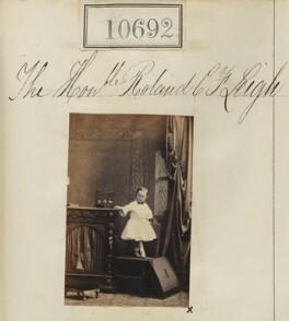 Hon. Rowland Charles Frederick Leigh, by Camille Silvy - NPG Ax60403