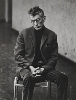 Samuel Beckett, by Dmitri Kasterine - NPG P1323
