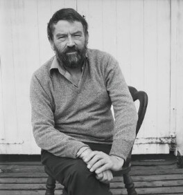 John Robert Fowles, by Dmitri Kasterine, 2009, based on a work of 1974 - NPG P1328 - © Dmitri Kasterine
