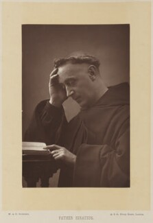 Father Ignatius (Joseph Leycester Lyne), by W. & D. Downey, published by  Cassell & Company, Ltd, published 1891 - NPG Ax15893 - © National Portrait Gallery, London