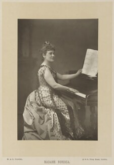 Madame Nordica (Lillian Nordica), by W. & D. Downey, published by  Cassell & Company, Ltd, published 1891 - NPG Ax15895 - © National Portrait Gallery, London