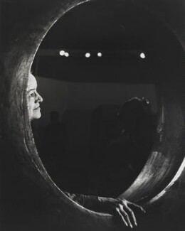 Barbara Hepworth, by Jorge ('J.S.') Lewinski, 1968 - NPG x13720 - If the sitter is a painter or sculptor: