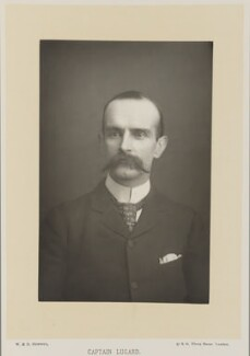 Frederick Lugard, 1st Baron Lugard, by W. & D. Downey, published by  Cassell & Company, Ltd - NPG Ax27911