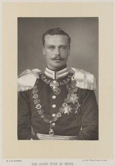 Ernest Ludwig, Grand Duke of Hesse and by Rhine, by W. & D. Downey, published by  Cassell & Company, Ltd - NPG Ax27913