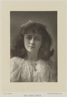 Cecilia ('Cissie') Loftus, by W. & D. Downey, published by  Cassell & Company, Ltd - NPG Ax27921
