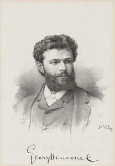 Sir George Henschel, by Unknown artist - NPG D35637