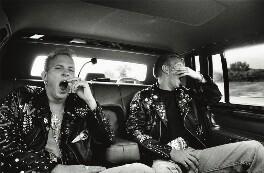 Bros (Matthew Weston Goss; Luke Damon Goss), by Honey Salvadori - NPG x133052