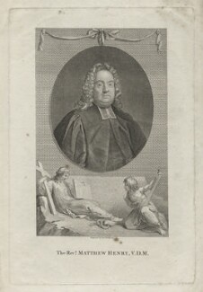 Matthew Henry, by Thomas Holloway, after  George Vertue - NPG D35639