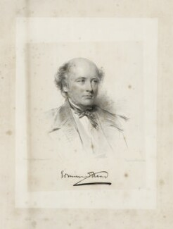 Sir Edmund Walker Head, 8th Bt, by William Holl Jr, after  George Richmond - NPG D35642