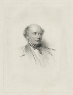 Sir Edmund Walker Head, 8th Bt, by William Holl Jr, after  George Richmond - NPG D35643