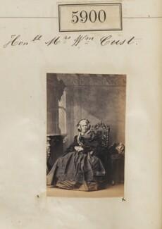 Sophia Cust (née Newnham), by Camille Silvy - NPG Ax55855