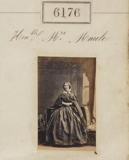 Elizabeth Maule (née Binny), by Camille Silvy - NPG Ax56122