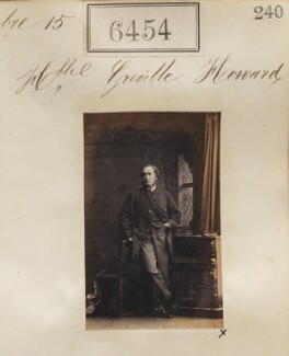 Hon. Greville Theophilus Howard, by Camille Silvy - NPG Ax56388