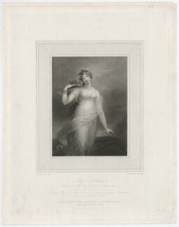 Katherine Sophia, Lady Heathcote, by John Samuel Agar, published by and after  Anne Mee (née Foldsone) - NPG D35660