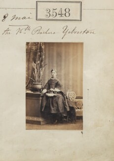 Barbara (née Yelverton), Lady Churston, by Camille Silvy - NPG Ax52944