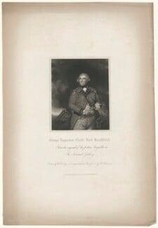 George Augustus Eliott, 1st Baron Heathfield, by John Henry Robinson, published by  Harding & Lepard, after  William Derby, after  Sir Joshua Reynolds - NPG D35671