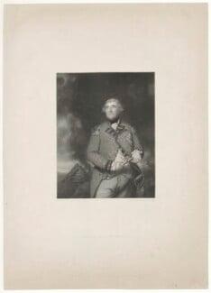 George Augustus Eliott, 1st Baron Heathfield, by George Thomas Doo, published by  John Pye, after  Sir Joshua Reynolds - NPG D35673