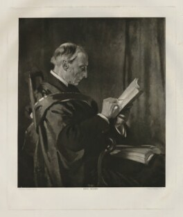 Charles Buller Heberden, by Emery Walker Ltd, after  Sir William Orpen - NPG D35680