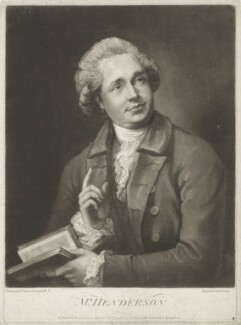 John Henderson, by and published by John Jones, after  Thomas Gainsborough - NPG D35688