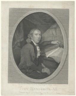 John Henderson, printed by W. Lander, published by  James Hogg, after  William Palmer - NPG D35691