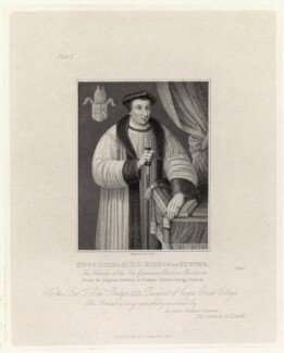 Hugh Oldham, by Charles Pye, published by  Agnew & Zanetti - NPG D35667