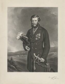 Sir Percy Egerton Herbert, by Thomas Lewis Atkinson, published by  Henry Graves & Co, after  Sir Francis Grant - NPG D35705