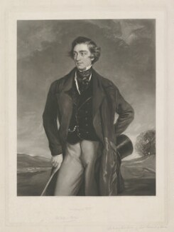 Sidney Herbert, 1st Baron Herbert of Lea, by George Raphael Ward, published by  Paul and Dominic Colnaghi & Co, after  Sir Francis Grant, published 29 November 1847 (1847) - NPG D35707 - © National Portrait Gallery, London
