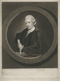 John Herries, by Richard Read, published by  Henry Bryer, after  David Martin - NPG D35714