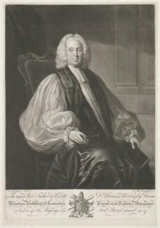 Thomas Herring, by James Macardell, after  Joseph Samuel Webster - NPG D35721