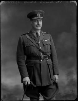 Sir Travers Edwards Clarke, by Bassano Ltd - NPG x154571