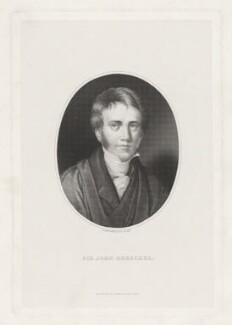 Sir John Frederick William Herschel, 1st Bt, by G. Gabrielli, published by  Williams & Son - NPG D35722
