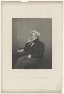 Sir John Frederick William Herschel, 1st Bt, by Daniel John Pound, published by  Illustrated News of the World, after  John Jabez Edwin Mayall - NPG D35723