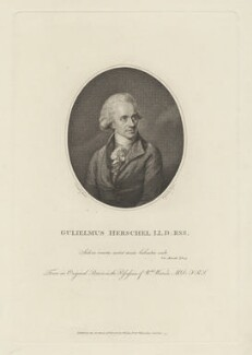 Sir William Herschel ('Gulielmus Herschel LL.D : RSS'), by Thomas Ryder, published by  S. Watts, after  Lemuel Francis Abbott, published 11 February 1788 (1785) - NPG D35724 - © National Portrait Gallery, London