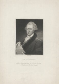 Sir William Herschel, by Edward Scriven, published by  Charles Knight, after  John Russell - NPG D35725