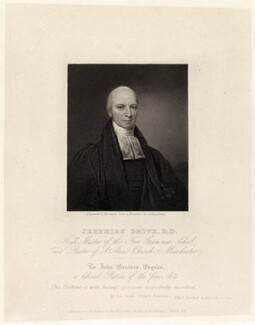 Jeremiah Smith, by Thomas Woolnoth, published by  Agnew & Zanetti, after  George Hargreaves - NPG D35803