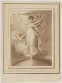 Maria Caroline Duff (née Manners), by John Samuel Agar, published by  Rudolph Ackermann, after  Richard Cosway - NPG D35774