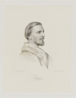Frederick Temple Hamilton-Temple-Blackwood, 1st Marquess of Dufferin and Ava, by Charles Holl, after  Henry Tanworth Wells, 1869 or after - NPG D35776 - © National Portrait Gallery, London