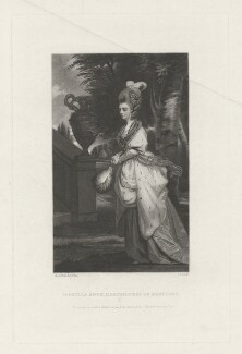 Isabella Anne Seymour-Conway (née Ingram), Marchioness of Hertford, by James Scott, published by  Henry Graves & Co, after  Sir Joshua Reynolds, published 1868 (1777-1778) - NPG D35732 - © National Portrait Gallery, London