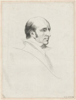 Unknown man, formerly known as Francis Charles Seymour-Conway, 3rd Marquess of Hertford, by C.G. Harley - NPG D35733