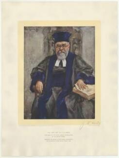 Joseph Herman Hertz, published by Raphael Tuck & Sons, after  Joseph Oppenheimer - NPG D35737