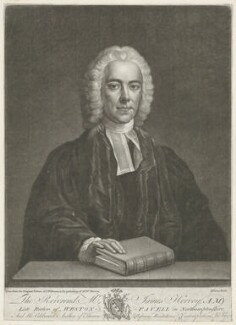 James Hervey, by John Dixon, published by  John Bowles, after  John Michael Williams - NPG D35738